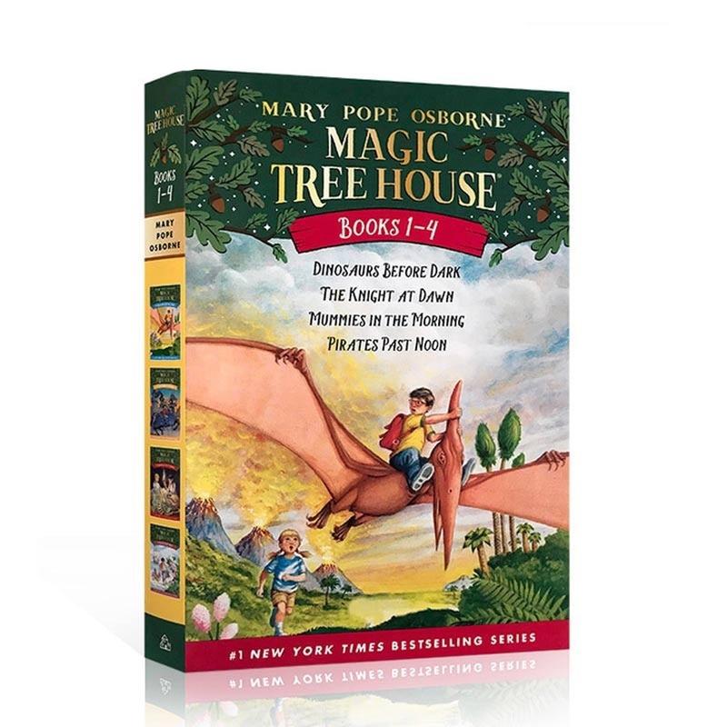 Magic Tree House Books #1-4神奇树屋合辑(1-4) ISBN 9780375813658