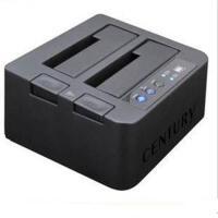 世特力裸族CROS2EU2CP 2.5/3.5寸SATA串口USB2.0脱机对拷双硬盘座