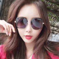 新款韩版潮流墨镜时尚街拍太阳眼镜女士旅游时尚墨镜