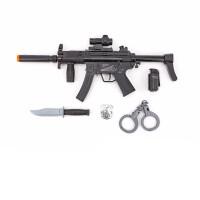 六一礼物98K M416儿童男孩绝地警察声光电动吃鸡求生装备行动玩具冲锋道具