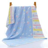 婴儿棉浴巾宝宝正方形新生儿童毛巾被加大盖毯洗澡柔吸水春秋