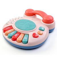 婴幼儿童玩具电话机5仿真电子琴0-1-3岁宝宝手拍鼓音乐拍拍鼓