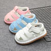 6-12个月宝宝学步鞋女宝宝透气凉鞋软底鞋婴儿凉鞋