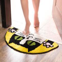 地毯门垫吸水地垫地毯卡通门垫客厅进门浴室防滑垫厨房卧室卫浴卫生间脚垫