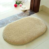 吸水门垫地垫防滑垫子房间门厅浴室脚垫椭圆形推拉门床边地毯