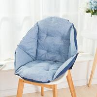20181102052731655椅垫坐垫靠垫一体办公室护腰靠背板凳电脑餐椅子藤椅学生连体垫子定制
