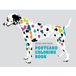 Postcard Coloring Book: Designs from Nature with 24 Cards t