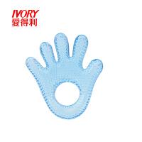 手掌形注水牙胶训练器玩具婴儿磨牙器C10ADL 颜色随机(暂无蓝色))