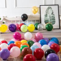 结婚装饰气球儿童周岁生日派对装饰婚庆结婚用品婚房婚礼布置100个装