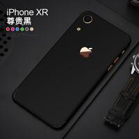 苹果x手机改色iphone XR背膜全包边XS max冰膜贴膜纸全身后壳彩膜 XR 改色膜(黑色)