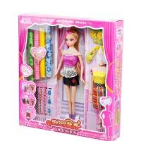 梦幻时装秀的衣服布料diy手工制作芭比娃娃套装儿童女孩公主 15厘米-30厘米