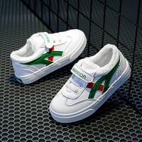 回力童鞋旗舰店儿童加绒棉鞋女童板鞋男童冬季新款中大童帆布鞋子