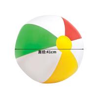 充气玩具球儿童球类玩具沙滩球宝宝户外玩具充气球室内