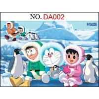 拼图 塑料胜木质哆啦a梦拼图1000片机器猫儿童卡通异形片字母提示