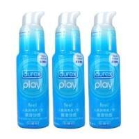 成人用品 杜蕾斯��滑油 快感��滑��3盒�b 成人用品