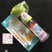 现货 本土采购贝母乳实感宽口径玻璃奶瓶防胀气 新生儿奶瓶