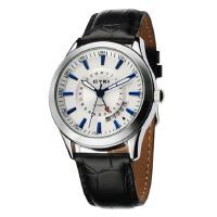 2017新款 艾奇 EYKI 时尚创意日历手表 皮带表 自动机械表 男表 白色 8532