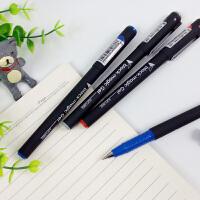 开学必备文具 晨光文具 中性笔 磨砂笔杆 水笔0.5mm 办公中性笔AGP13902