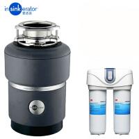 爱适易ISE E100 厨房食物 垃圾处理器 搭配净水器 E100垃圾处理器+3M净水直饮机DWS6000净水器