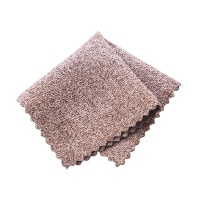 硬丝布洗碗布厨房洗锅抹布加厚清洁毛巾擦手巾擦桌布 深咖色
