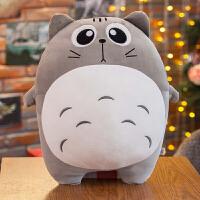 大号可爱龙猫抱枕软公仔毛绒玩具睡觉枕头情人节女孩生日礼物