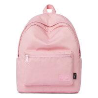 女包时尚休闲双肩包纯色百搭学生书包糖果色背包
