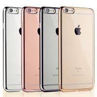 【包邮】MUNU iphone6s手机壳 iPhone6splus手机壳 套 电镀硅胶套 苹果6splus保护套 苹果