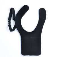 隐形背包男士肩臂包腋下ipad战术户外运动跑步iphone贴身防盗腰包 黑色.
