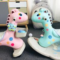 儿童木马婴儿摇椅宝宝摇马玩具塑料摇摇马带音乐礼物