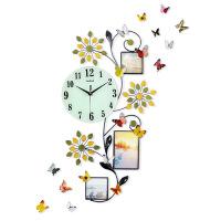 钟表挂钟 客厅个性创意时钟 现代时尚挂表 简约大气家用石英钟 主图款 夜光款 宽38*高68CM 26英寸