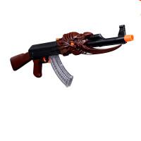 高质量玩具枪水晶弹巴雷特软弹枪AK47AK麒麟儿童玩具98K玩具六一儿童节礼物 标准配置