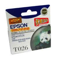 爱普生(Epson)T026 黑色墨盒(适用Photo 810 830 830U)