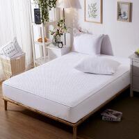 全棉床笠单件全棉夹棉席梦思保护套加厚防滑薄棕垫床垫套1.8m床罩定制