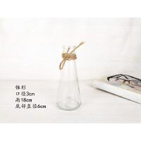 简约创意风信子水培玻璃花瓶透明水养植物绿萝花盆居家插花小清新 中等