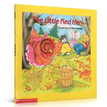 顺丰发货 The Little Red Hen 红色的小母鸡 Easy-to-Read Folktales可爱经典的民间故事系列书 少儿英文原版绘本 图画书