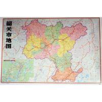 韶关市地图 广东地图出版社