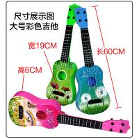 儿童吉他 可弹奏乐器 梦幻木纹益智 仿真钢弦早教玩具