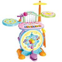 架子鼓玩具琴宝宝早教兴趣架子鼓乐器儿童弹奏敲打声光音乐玩具鼓A