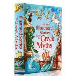 英文原版绘本 Usborne Illustrated Stories from the Greek Myths 精装