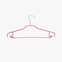 【任选3件4折,2件5折】20只量贩装 当当优品 防滑多功能晾衣架 加粗无痕衣架 玫红色