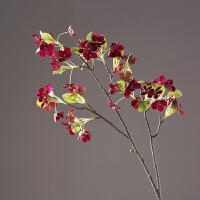 仿真香奈儿樱花假花绢花 客厅餐厅玄幻样板间插花花艺花卉装饰品