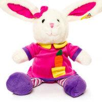 凯弘 彩虹小兔子毛绒玩具布娃娃玩偶公仔 生日礼物