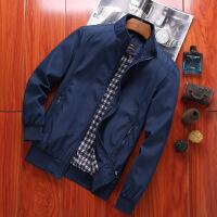中年男士外套冬季加绒加厚夹克男春秋季薄款夹棉上衣爸爸冬装外套
