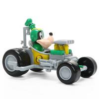 正版米奇妙妙车队惯性车玩具幼儿唐老鸭玩具车赛车模型
