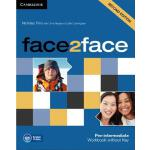 【预订】Face2face Pre-Intermediate Workbook Without Key