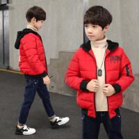 童装男童冬装棉衣外套2018新款加厚短款中大童韩版棉服儿童棉袄潮