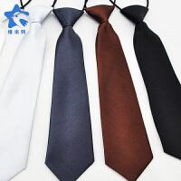男孩黑色红色多彩色小领带男童领带儿童节目表演服饰配件