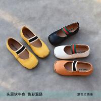 童鞋女童单鞋软皮鞋演出鞋宝宝公主透气