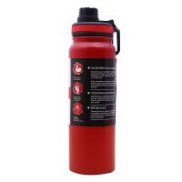 【优选】Miswater保温水壶不锈钢骑行水壶户外大容量运动健身便携水杯