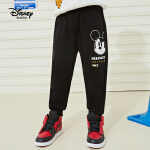 4.17号超品【3折券后价:40.8元】迪士尼男童长裤春新款2020时尚奇趣针织长裤男